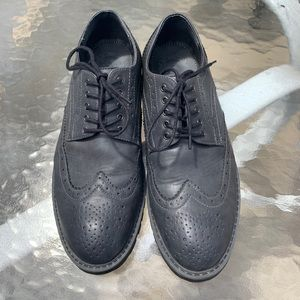 Marc Anthony Wingtip Laced Oxford Gray Casual